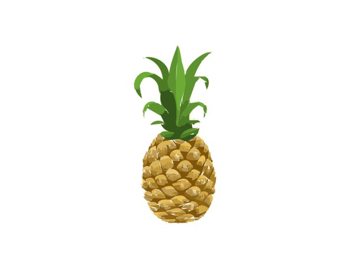 fruct de ananas