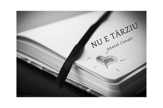 Poezie, Nu e târziu, Anatol Covali