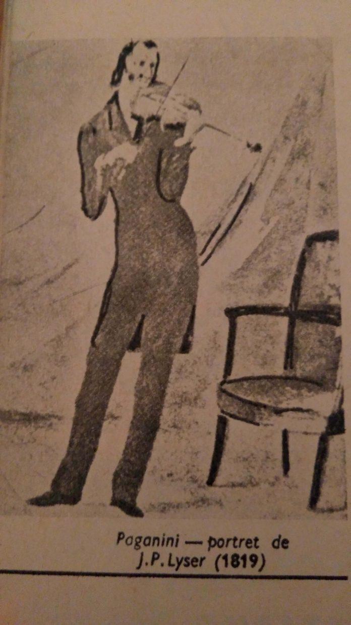 Niccolo Paganini, violonist,