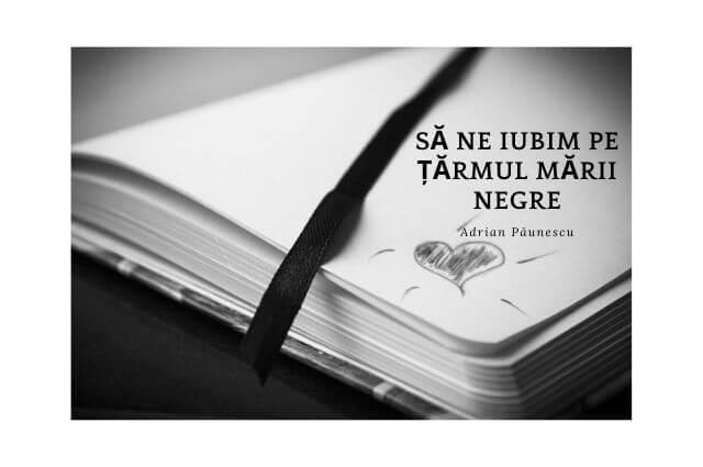 Adrian Păunescu, poezie, Să ne iubim pe țărmul mării negre, ţărmul